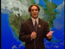 Who does Eric want to replace on the news?