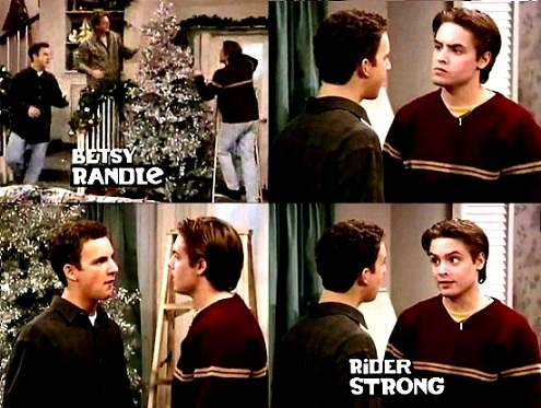 """True or False: Topanga irks Eric when she says """" but I always have cider at Christmas"""""""