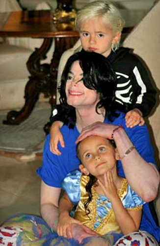 who are those kids with michael jackson