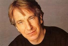 When did Alan Rickman give up smoking ?