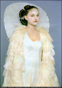 Which country was Padmé's Parade Gown inspired from?