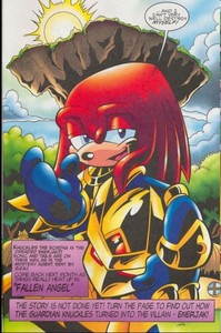 who does Knuckles REALLY love?