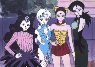 After becoming normal women what kind of duka did Four Phantom Sisters open?