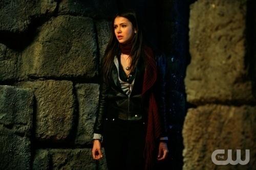T/F:Katherine didn't meet Elena