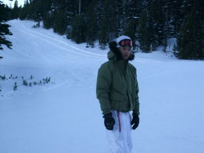 After the It's Entertainment tour was over, where did Keith go to snowboard for a few days before returning to Ireland?