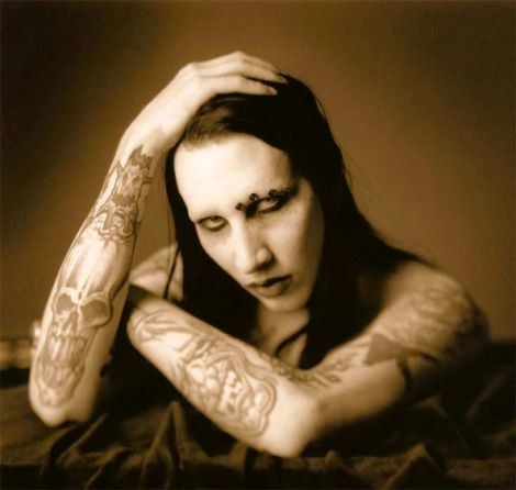 What is the title of the book released in 1998 by Marilyn Manson?