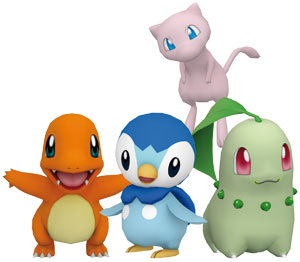 charmander and piplup