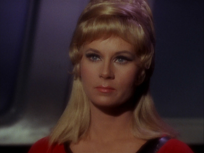 Who does she have a crush on in TOS?