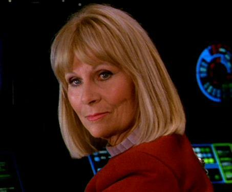 "What was her position on Excelsior in ""The Undiscovered Country""?"