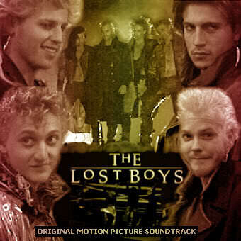 What was the name of the vampire character Kiefer portrayed in The Lost Boys 1987?