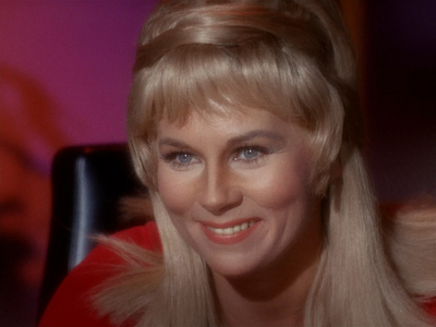 T/F: TOS is the only show that she's appeared in?