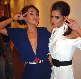 In X Factor 2010, which one of Cheryl's girls made it into seconde place?