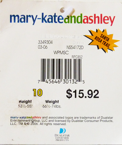 """mary-kateandashley brand made a clothing range for each new season. This tag shows """" Santa Rosa Trail"""". Which piece is from that range ?"""