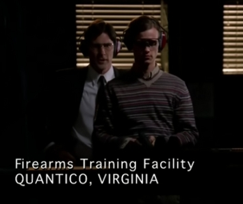 Which episode does Hotch give Reid shooting lessons?