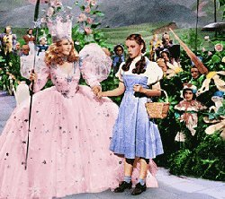 The Wizard of Oz is loved door all....what is the name of the good witch ?