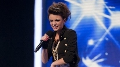2010 was the first time she'd auditioned for The X Factor.
