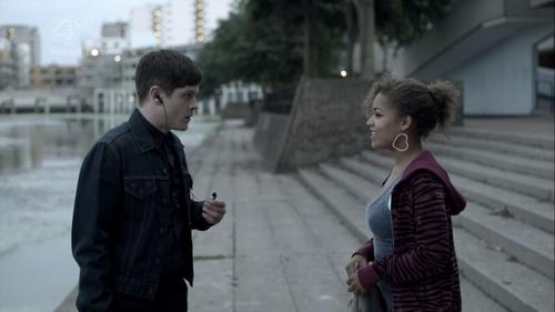 What Echo & the Bunnymen song is Simon listening to when him and Alisha walk together?