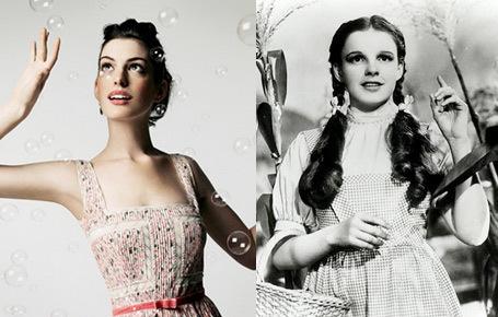 who is she look alike judy garland ?