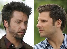 T/F Michael Weston and James Roday had been together in movies, tv and theater