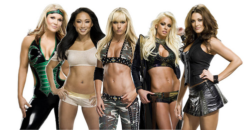 Which WWE Diva's real name is Victoria Elizabeth Crawford?