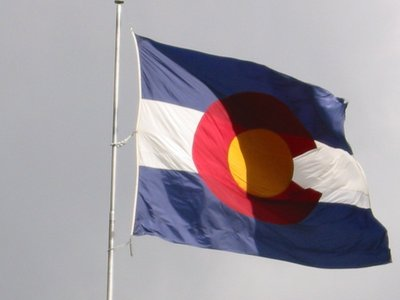 colorado -- state flag adopted what ano ?