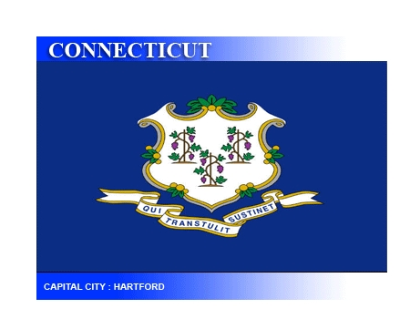 connecticut -- state flag adopted what year ?