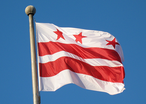 washington,d.c. -- flag adopted what year ?