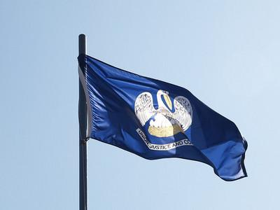 louisana -- state flag adopted what tahun ?