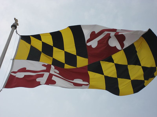 maryland -- state flag adopted what 년 ?