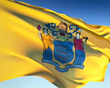 new jersey -- state flag adopted what tahun ?
