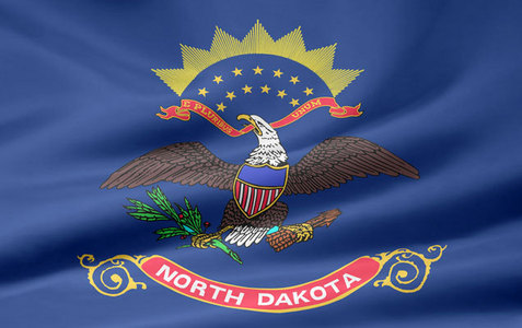 north dakota -- state flag adopted what year ?