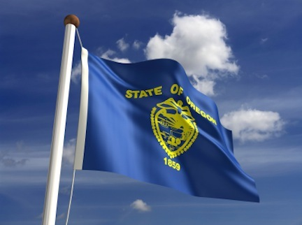 oregon -- state flag adopted what year ?