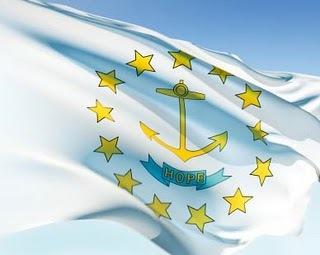 rhode island -- state flag adopted what tahun ?