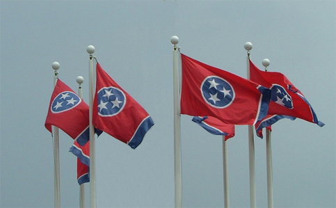 tennessee -- state flag adopted what ano ?