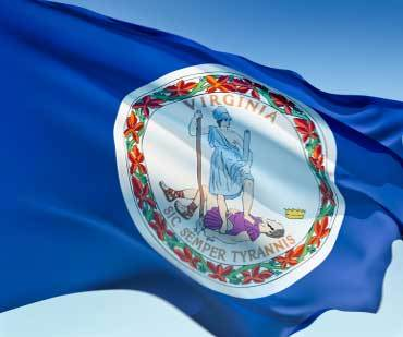 virginia -- state flag adopted what year ?