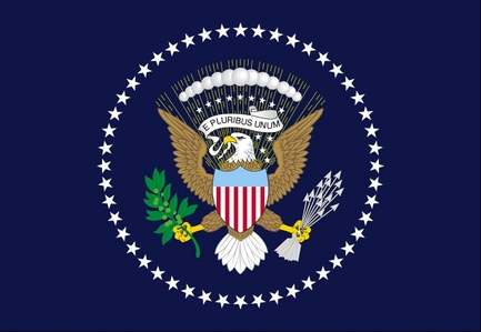 u.s. president flag adopted what year ?