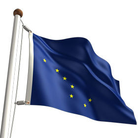 alaska -- state flag adopted what year ?
