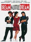 "In the Movie ""Dream A Little Dream"" how did ""Dinger"" (Corey Haim) brake his leg?"