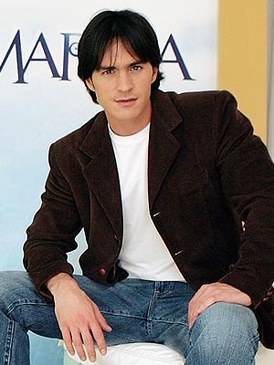 In telenovela Como En El Cine he acted with Lorena Rojas?