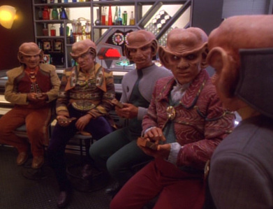 According to Brunt, who was not part of the Ferengi team who rescued Moggie from the Dominion?