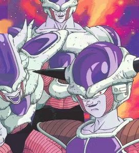 What's Frieza's power level when he fights Nail?
