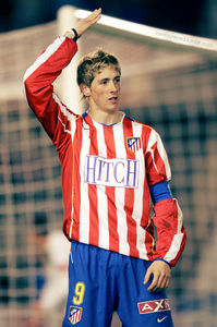 At the age of ___, Fernando Torres was named Atlético Madrid's captain.