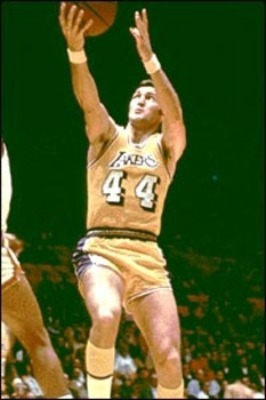 Jerry West played 14 seasons in the NBA, how many times was he selected as an NBA All-Star?