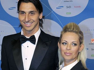 What is Zlatan's wife's name?