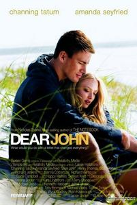 What is his characters name in Dear John!