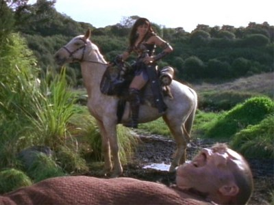 What good conselhos did Xena give the Cyclops?