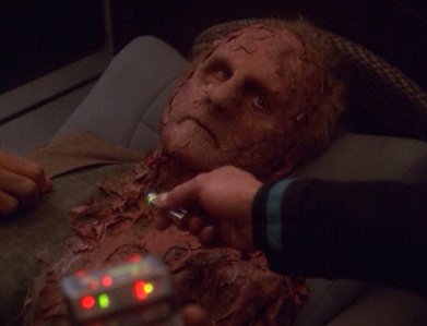 What was the nucleotide marking sequence Bashir used to cure Odo's disease?