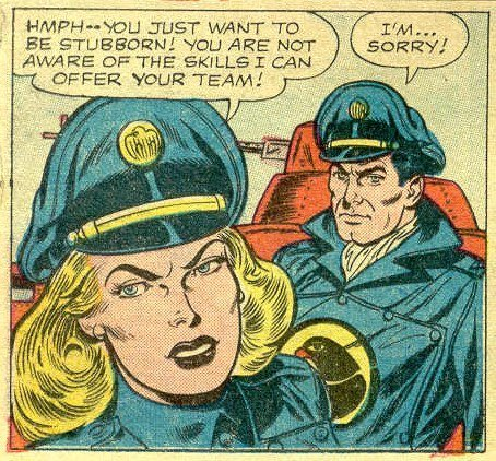 Lady Blackhawk First Appeared in Blackhawk #133 in 1959. She is Introduced by Saving a Team of Blackhawks,In The Same Issue How Does She Manage to Get Them Captured Again?