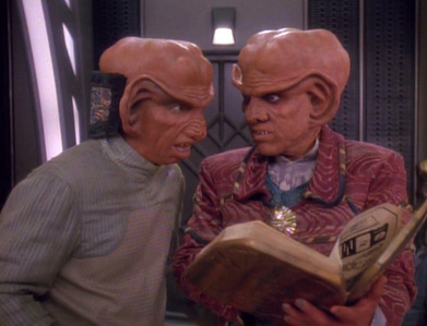 "How well do you know the Rules of Acquisition? - ""Never make fun of a Ferengi's mother"""