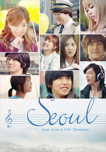 Who were the Girls' Generation members that participated in SEOUL music video?